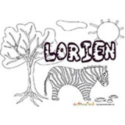 Lorien, coloriages Lorien