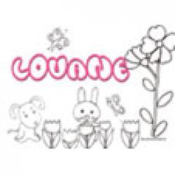 Louane, coloriages Louane