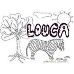 Louca, coloriages Louca