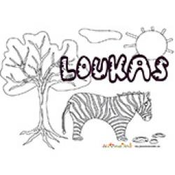 Loukas, coloriages Loukas