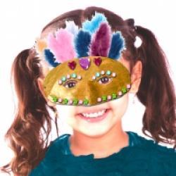 Masque loup de Venise enfant