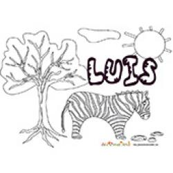 Luis, coloriages Luis