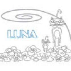 Luna, coloriages Luna