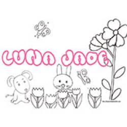 Luna-Jade, coloriages Luna-Jade