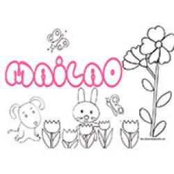 Mailao, coloriages Mailao