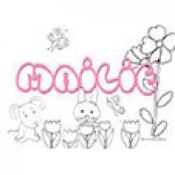 Mailie, coloriages Mailie