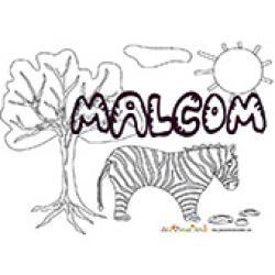 Malcom, coloriages Malcom