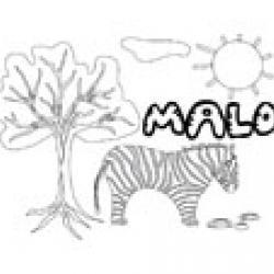 Malo, coloriages Malo