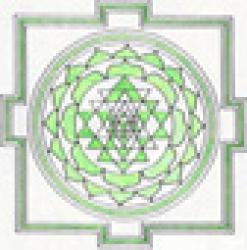 Mandala vert