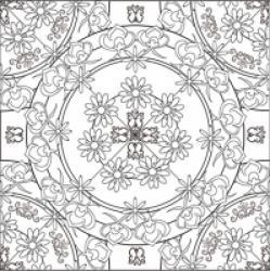 Mandalas complexes, mandala difficile