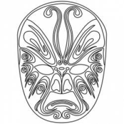 Masques chinois