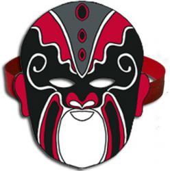 masque asiatique