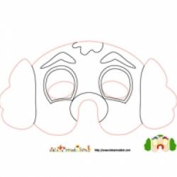 Coloriage de masques