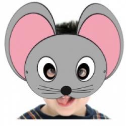 Masque de souris grise