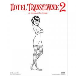 Mavis Hotel Transylvanie 2 - coloriage