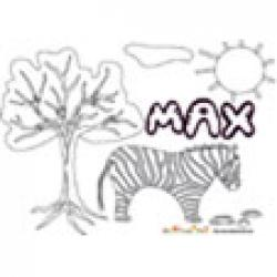 Max, coloriages Max