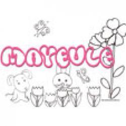 Mayeule, coloriages Mayeule