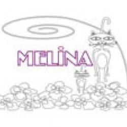 Melina, coloriages Melina