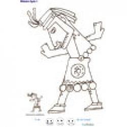 Imprimer la fiche de graphisme sur le mexique 6 : l'inca