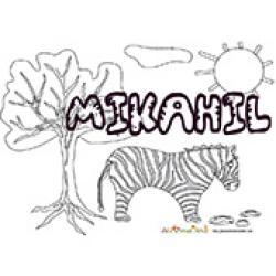 Mikahil, coloriages Mikahil