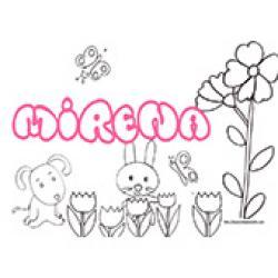 Mirena, coloriages Mirena