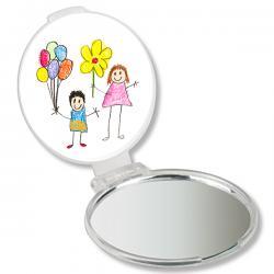 Miroir de sac personnalisé