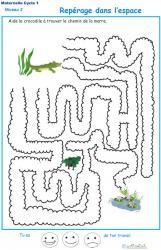 Exercice 4 : repérage dans l'espace labyrinthe 4