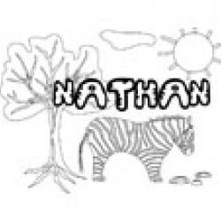 Nathan, coloriages Nathan