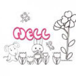 Nell, coloriages Nell