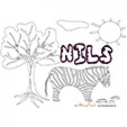 Nils, coloriages Nils