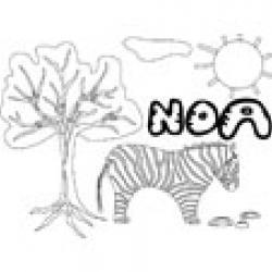 Noa, coloriages Noa