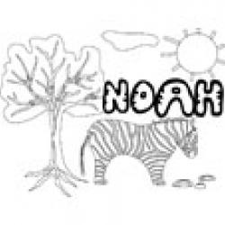 Noah, coloriages Noah