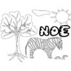 Noe, coloriages Noe