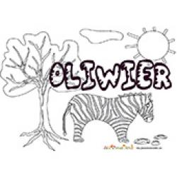 Oliwier, coloriages Oliwier