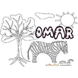 Omar, coloriages Omar