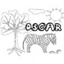 Oscar, coloriages Oscar