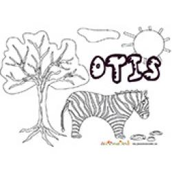 Otis, coloriages Otis