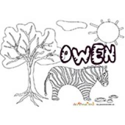 Owen, coloriages Owen