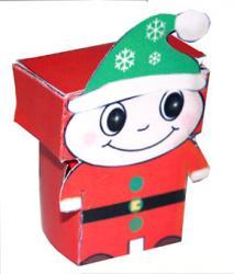 Lutin paper toy