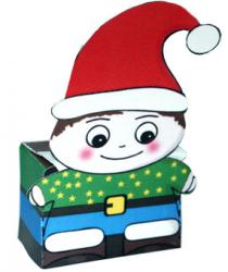 Lutin paper toy