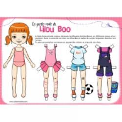 Paper doll ou poupées de papier