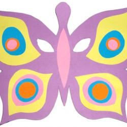 Masque papillon