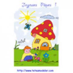 Image de Pâques à imprimer - image Paque 21