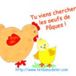 Image de Pâques à imprimer - image Paque 24