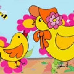 Image de Pâques à imprimer - image Paque 25