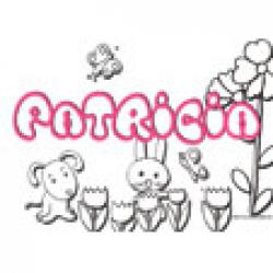 Patricia, coloriages Patricia