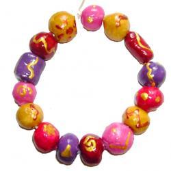 Fabrication de perles  maison pour la fabrication des bijoux
