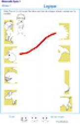 Exercice de logique : puzzle 1 assembler deux parties d'une image