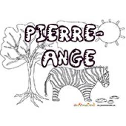 Pierre Ange, coloriages Pierre Ange
