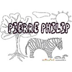 Pierre Philip, coloriages Pierre Philip